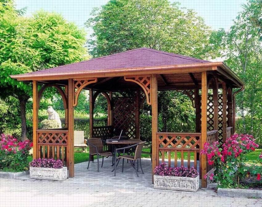 Vendita Gazebo Bari.Gazebo Pavillon Pergole Gazebo E Coperture Progettazione